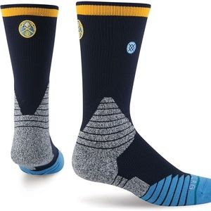 Stance Underwear & Socks - 🆕 Stance Denver Nuggets NBA Basketball Socks